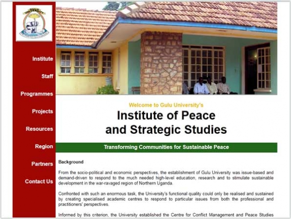 Institute of Peace and Strategic Studies, Gulu University, Uganda